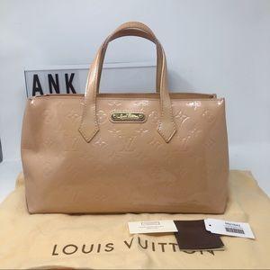 Louis Vuitton Wilshire PM Monogram Vernis tote